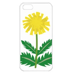 Sunflower Floral Flower Yellow Green Apple Iphone 5 Seamless Case (white) by Mariart