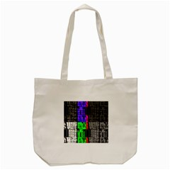Repeated Tapestry Pattern Tote Bag (cream) by Nexatart