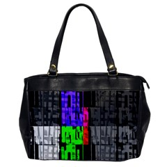Repeated Tapestry Pattern Office Handbags by Nexatart