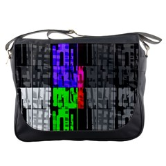 Repeated Tapestry Pattern Messenger Bags by Nexatart