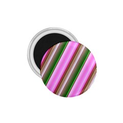 Pink And Green Abstract Pattern Background 1 75  Magnets by Nexatart