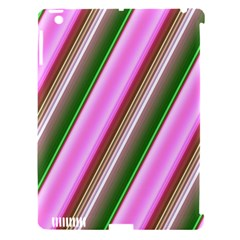 Pink And Green Abstract Pattern Background Apple Ipad 3/4 Hardshell Case (compatible With Smart Cover) by Nexatart