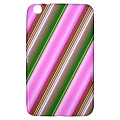 Pink And Green Abstract Pattern Background Samsung Galaxy Tab 3 (8 ) T3100 Hardshell Case