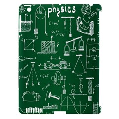 Scientific Formulas Board Green Apple Ipad 3/4 Hardshell Case (compatible With Smart Cover) by Mariart