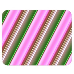 Pink And Green Abstract Pattern Background Double Sided Flano Blanket (medium)  by Nexatart