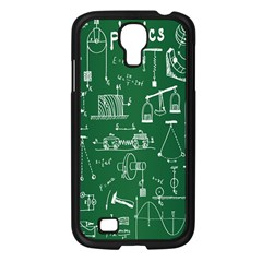 Scientific Formulas Board Green Samsung Galaxy S4 I9500/ I9505 Case (black) by Mariart