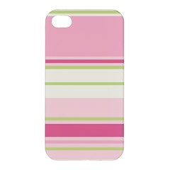 Turquoise Blue Damask Line Green Pink Red White Apple Iphone 4/4s Hardshell Case by Mariart