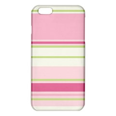 Turquoise Blue Damask Line Green Pink Red White Iphone 6 Plus/6s Plus Tpu Case by Mariart