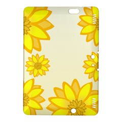 Sunflowers Flower Floral Yellow Kindle Fire Hdx 8 9  Hardshell Case by Mariart