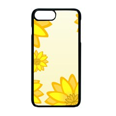 Sunflowers Flower Floral Yellow Apple Iphone 7 Plus Seamless Case (black) by Mariart