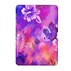 Littie Birdie Abstract Design Artwork Samsung Galaxy Tab 2 (10 1 ) P5100 Hardshell Case