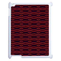 Repeated Tapestry Pattern Abstract Repetition Apple Ipad 2 Case (white) by Nexatart