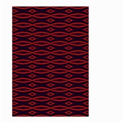 Repeated Tapestry Pattern Abstract Repetition Small Garden Flag (two Sides) by Nexatart