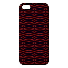 Repeated Tapestry Pattern Abstract Repetition Iphone 5s/ Se Premium Hardshell Case