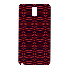 Repeated Tapestry Pattern Abstract Repetition Samsung Galaxy Note 3 N9005 Hardshell Back Case by Nexatart
