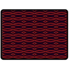 Repeated Tapestry Pattern Abstract Repetition Double Sided Fleece Blanket (large)  by Nexatart