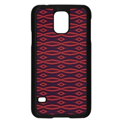 Repeated Tapestry Pattern Abstract Repetition Samsung Galaxy S5 Case (black) by Nexatart