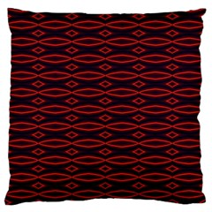 Repeated Tapestry Pattern Abstract Repetition Large Flano Cushion Case (two Sides) by Nexatart