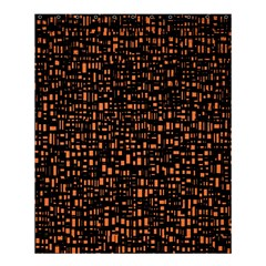 Brown Box Background Pattern Shower Curtain 60  X 72  (medium)  by Nexatart