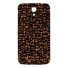 Brown Box Background Pattern Samsung Galaxy Mega I9200 Hardshell Back Case by Nexatart