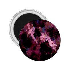 Grunge Purple Abstract Texture 2 25  Magnets by Nexatart
