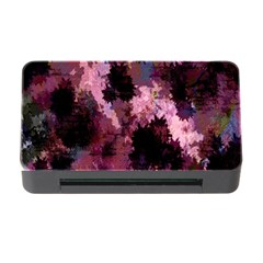 Grunge Purple Abstract Texture Memory Card Reader With Cf by Nexatart