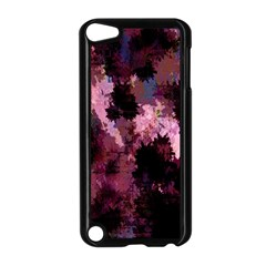Grunge Purple Abstract Texture Apple Ipod Touch 5 Case (black) by Nexatart