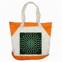 Abstract Green Patterned Wallpaper Background Accent Tote Bag by Nexatart