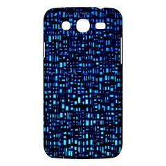 Blue Box Background Pattern Samsung Galaxy Mega 5 8 I9152 Hardshell Case  by Nexatart
