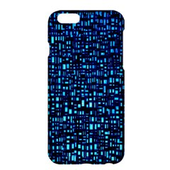 Blue Box Background Pattern Apple Iphone 6 Plus/6s Plus Hardshell Case