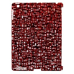 Red Box Background Pattern Apple Ipad 3/4 Hardshell Case (compatible With Smart Cover) by Nexatart