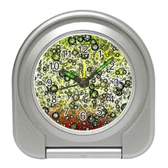 Chaos Background Other Abstract And Chaotic Patterns Travel Alarm Clocks by Nexatart