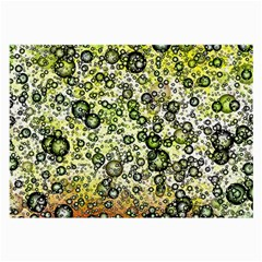 Chaos Background Other Abstract And Chaotic Patterns Large Glasses Cloth by Nexatart