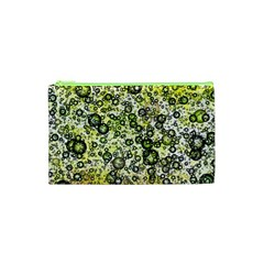 Chaos Background Other Abstract And Chaotic Patterns Cosmetic Bag (xs) by Nexatart