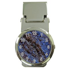 Cracked Mud And Sand Abstract Money Clip Watches by Nexatart