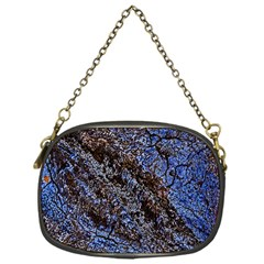 Cracked Mud And Sand Abstract Chain Purses (one Side)  by Nexatart