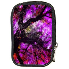 Pink Abstract Tree Compact Camera Cases by Nexatart