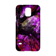 Pink Abstract Tree Samsung Galaxy S5 Hardshell Case  by Nexatart