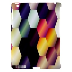 Colorful Hexagon Pattern Apple Ipad 3/4 Hardshell Case (compatible With Smart Cover) by Nexatart