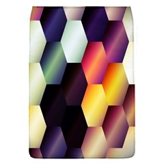 Colorful Hexagon Pattern Flap Covers (s)  by Nexatart