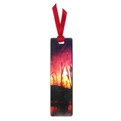 Fall Forest Background Small Book Marks by Nexatart