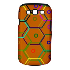 Color Bee Hive Color Bee Hive Pattern Samsung Galaxy S Iii Classic Hardshell Case (pc+silicone) by Nexatart