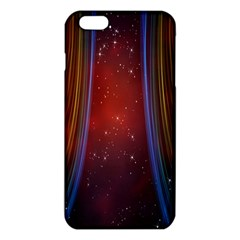 Bright Background With Stars And Air Curtains Iphone 6 Plus/6s Plus Tpu Case