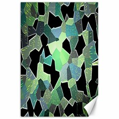 Wallpaper Background With Lighted Pattern Canvas 20  X 30   by Nexatart