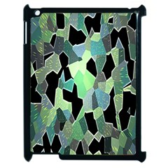 Wallpaper Background With Lighted Pattern Apple Ipad 2 Case (black) by Nexatart