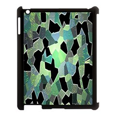 Wallpaper Background With Lighted Pattern Apple Ipad 3/4 Case (black) by Nexatart