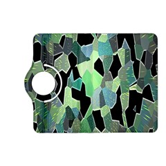 Wallpaper Background With Lighted Pattern Kindle Fire Hd (2013) Flip 360 Case by Nexatart