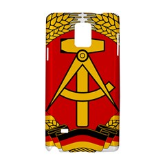 National Emblem Of East Germany  Samsung Galaxy Note 4 Hardshell Case by abbeyz71