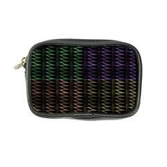 Multicolor Pattern Digital Computer Graphic Coin Purse by Nexatart