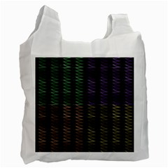 Multicolor Pattern Digital Computer Graphic Recycle Bag (two Side)  by Nexatart
